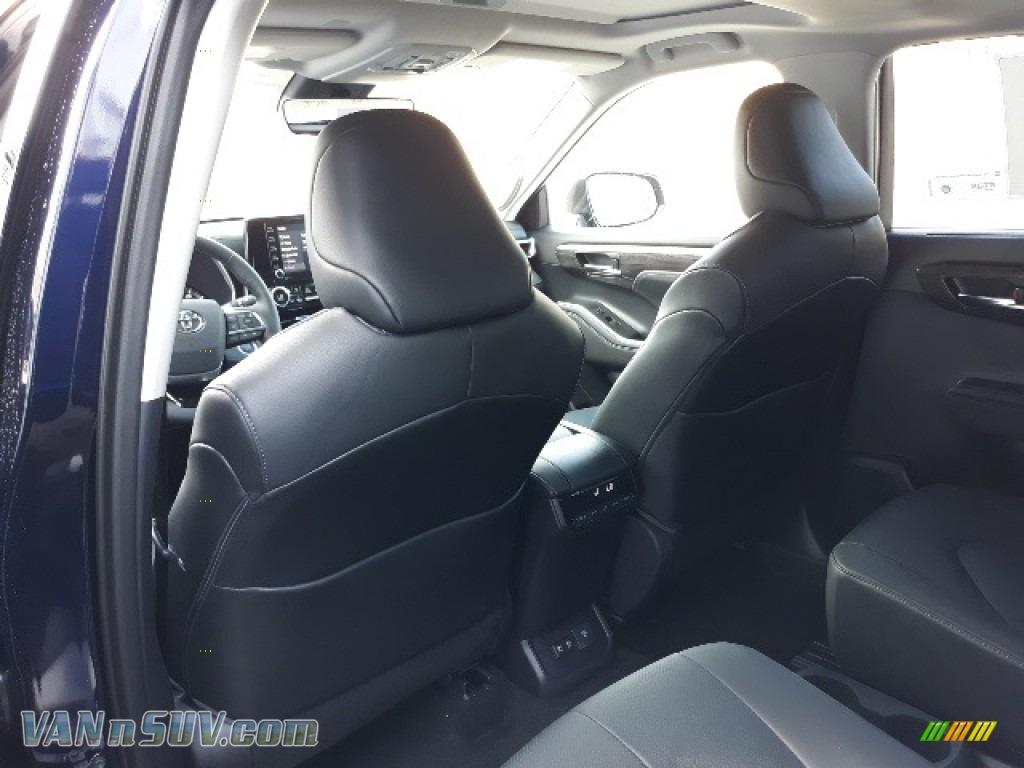 2020 Highlander Limited AWD - Blueprint / Black photo #9