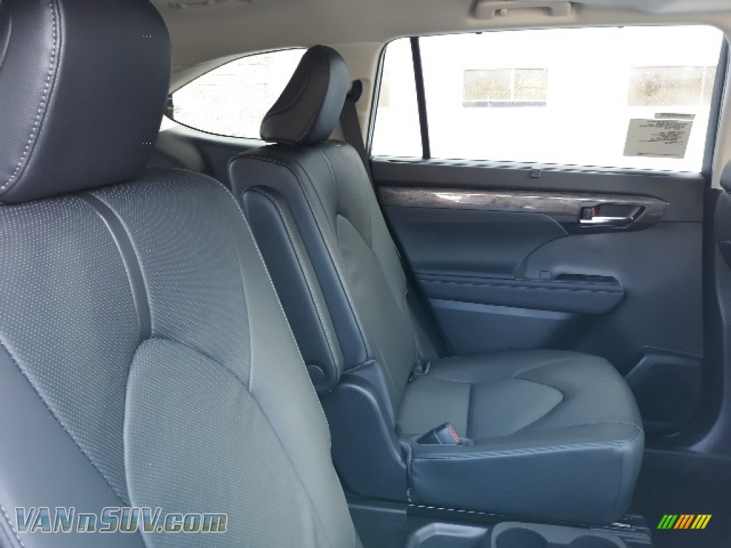 2020 Highlander Limited AWD - Blueprint / Black photo #16