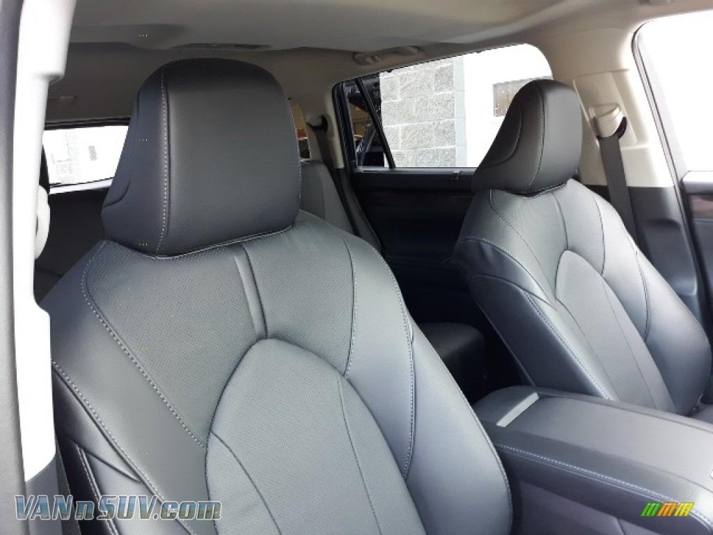 2020 Highlander Limited AWD - Blueprint / Black photo #22
