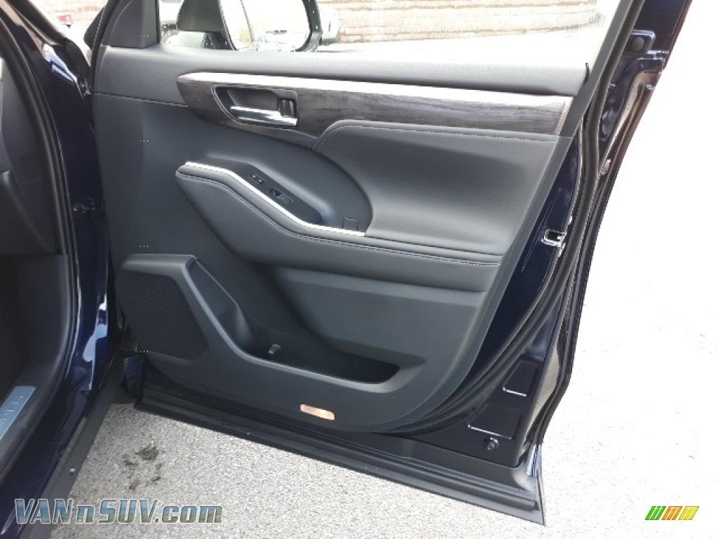 2020 Highlander Limited AWD - Blueprint / Black photo #24