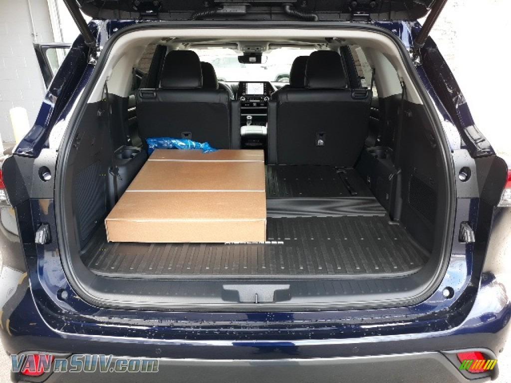 2020 Highlander Limited AWD - Blueprint / Black photo #48