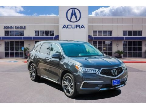 Gunmetal Metallic 2020 Acura MDX Technology