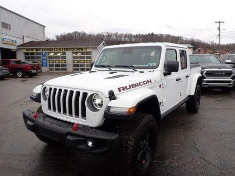 Bright White 2020 Jeep Gladiator Rubicon 4x4