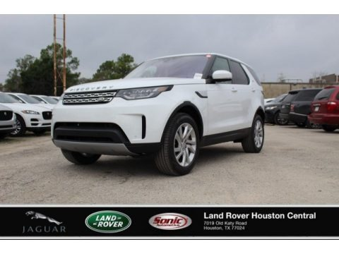 Fuji White 2020 Land Rover Discovery HSE