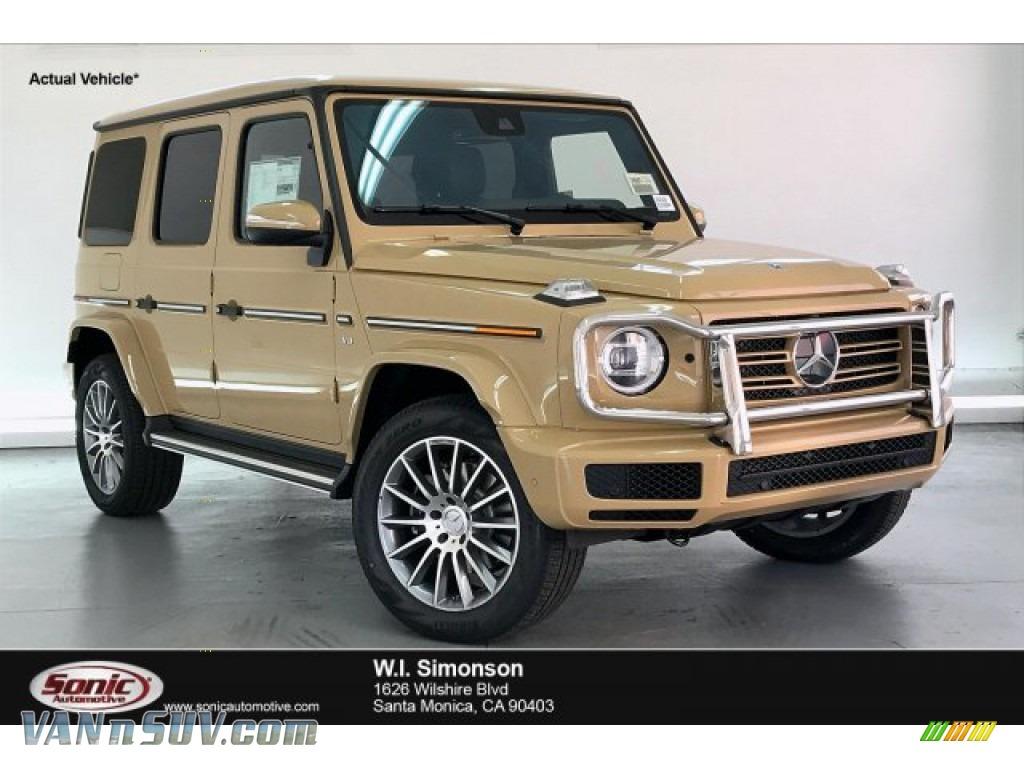 G Manufaktur Desert Sand / Espresso Brown/Black Mercedes-Benz G 550