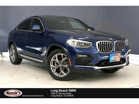 Phytonic Blue Metallic 2020 BMW X4 xDrive30i