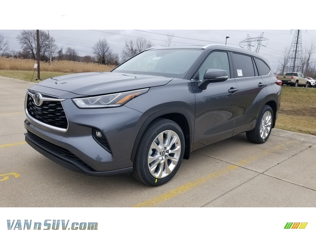 2020 Highlander Limited AWD - Magnetic Gray Metallic / Graphite photo #1