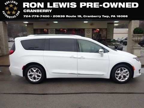 Bright White 2020 Chrysler Pacifica Limited