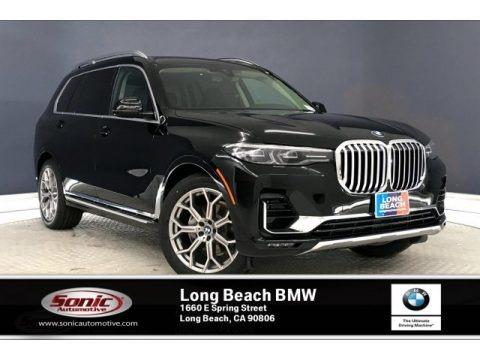 Jet Black 2020 BMW X7 xDrive40i