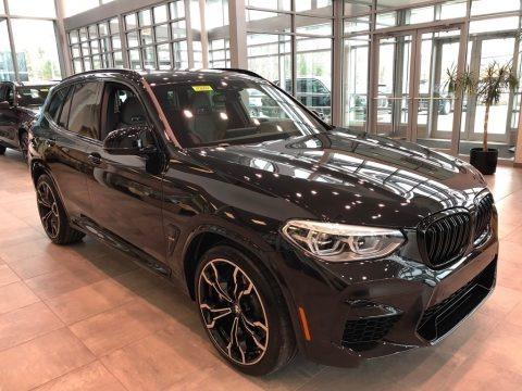 Black Sapphire Metallic 2020 BMW X3 M Competition