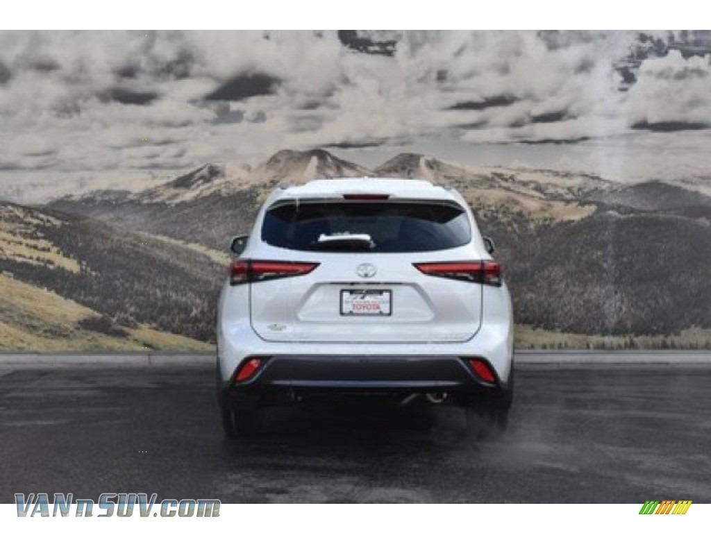2020 Highlander Limited AWD - Blizzard White Pearl / Black photo #4