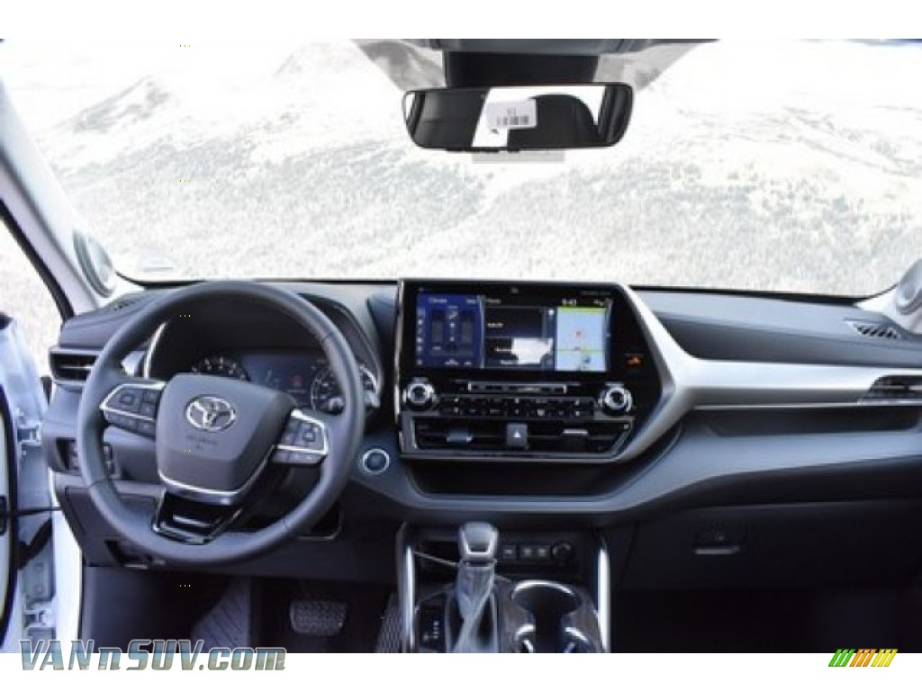2020 Highlander Limited AWD - Blizzard White Pearl / Black photo #7