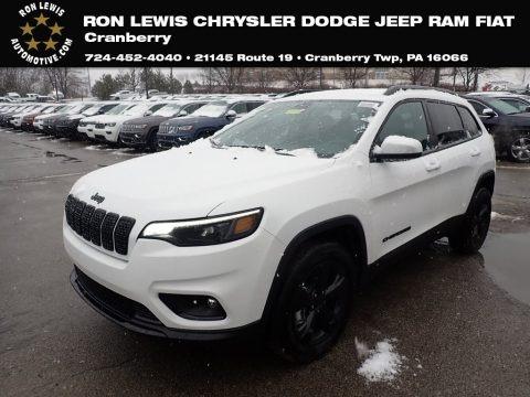 Bright White 2020 Jeep Cherokee Latitude Plus 4x4