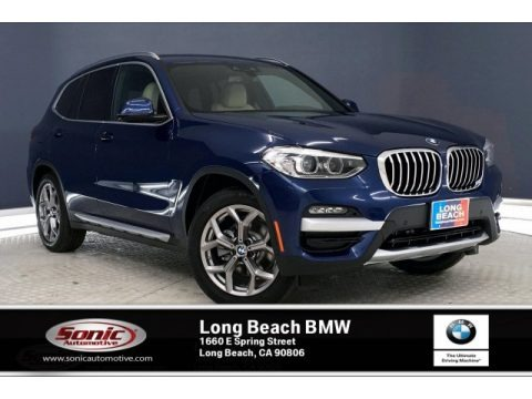 Phytonic Blue Metalli 2020 BMW X3 sDrive30i