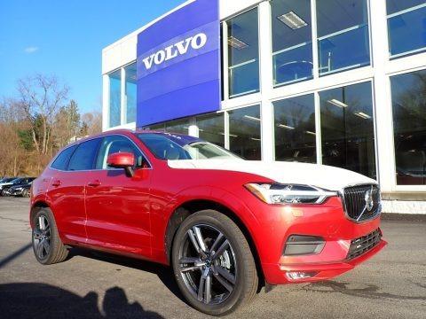Fusion Red Metallic 2020 Volvo XC60 T5 AWD Momentum