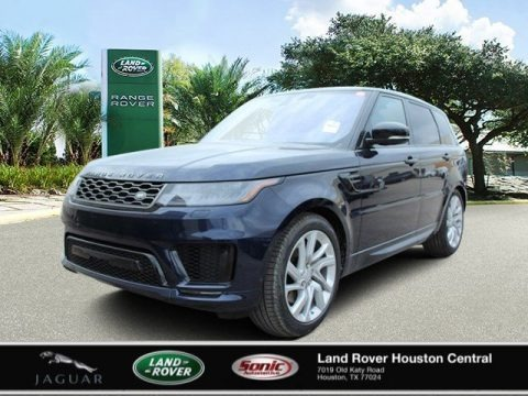 Portofino Blue Metallic 2020 Land Rover Range Rover Sport HSE Dynamic