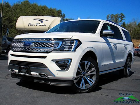 Star White 2020 Ford Expedition Platinum Max 4x4