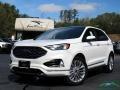 Ford Edge Titanium AWD Star White Metallic Tri-Coat photo #1