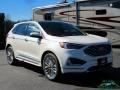 Ford Edge Titanium AWD Star White Metallic Tri-Coat photo #7