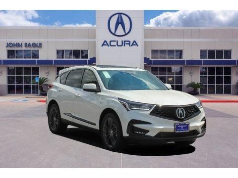 Platinum White Pearl 2020 Acura RDX A-Spec