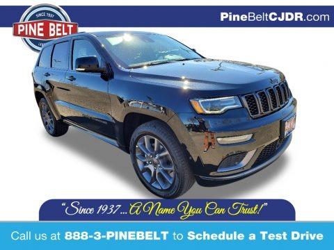 Diamond Black Crystal Pearl 2020 Jeep Grand Cherokee High Altitude 4x4
