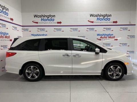 Platinum White Pearl 2020 Honda Odyssey Touring