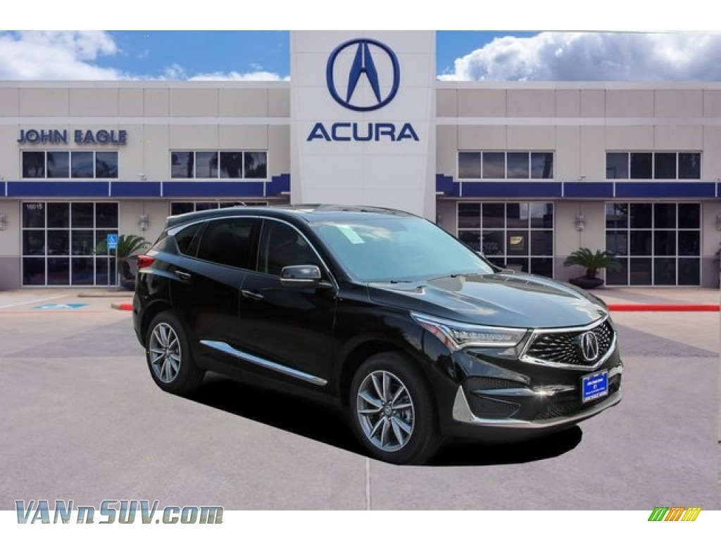 Majestic Black Pearl / Ebony Acura RDX Technology