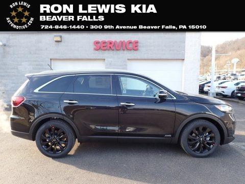 Ebony Black 2020 Kia Sorento S AWD