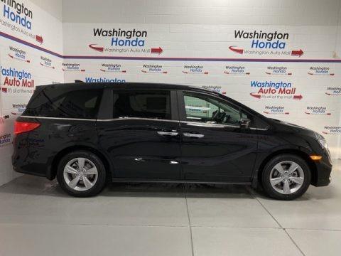 Crystal Black Pearl 2020 Honda Odyssey EX