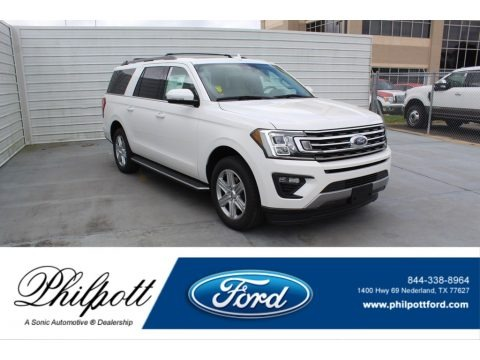 Star White 2020 Ford Expedition XLT Max