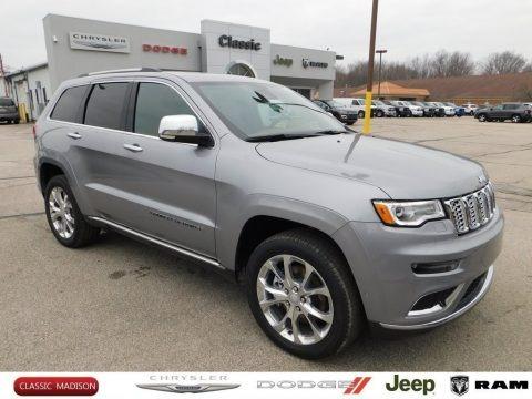 Billet Silver Metallic 2020 Jeep Grand Cherokee Summit 4x4