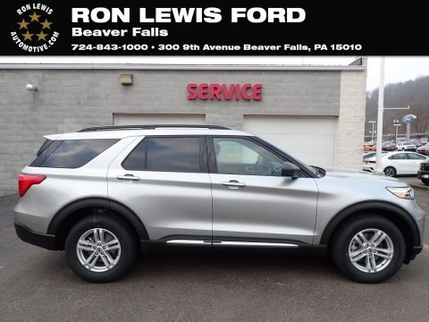 Iconic Silver Metallic 2020 Ford Explorer XLT 4WD