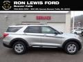 Ford Explorer XLT 4WD Iconic Silver Metallic photo #1