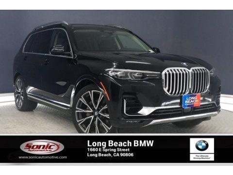 Black Sapphire Metallic 2020 BMW X7 xDrive40i