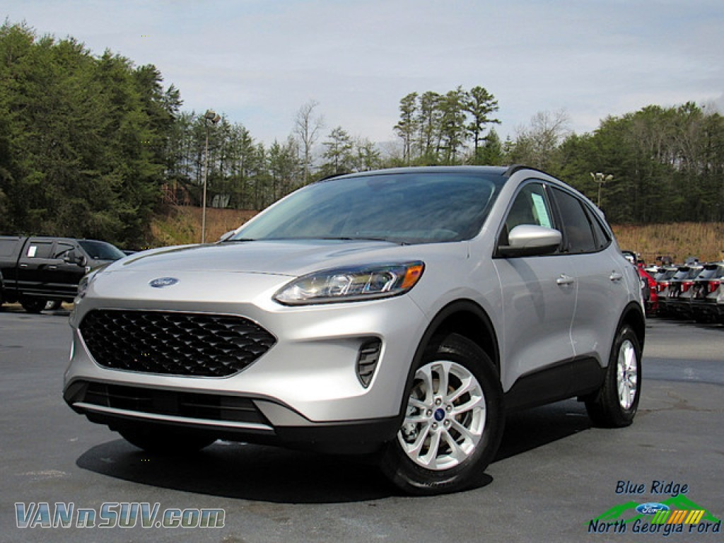 2020 Escape SE 4WD - Ingot Silver Metallic / Sandstone photo #1
