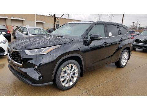 Midnight Black Metallic 2020 Toyota Highlander Limited AWD