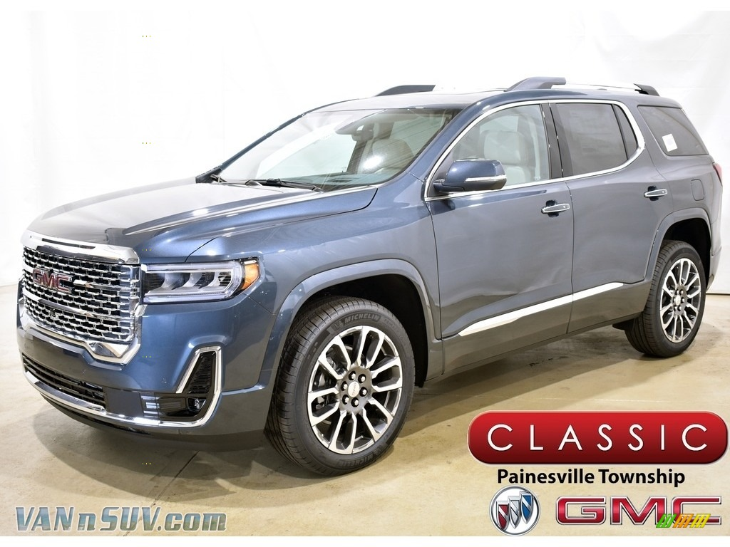 2020 Acadia Denali AWD - Dark Sky Metallic / Dark Galvanized/Light Shale photo #1
