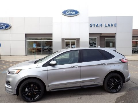 Iconic Silver Metallic 2020 Ford Edge ST AWD