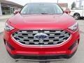 Ford Edge SEL AWD Rapid Red Metallic photo #9