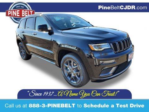 Diamond Black Crystal Pearl 2020 Jeep Grand Cherokee Limited 4x4