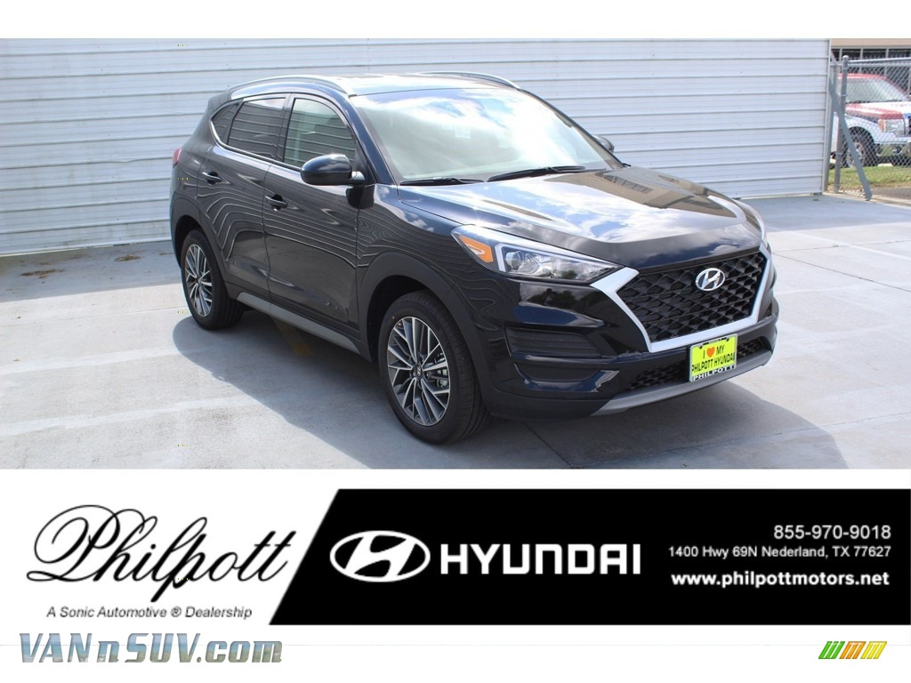 2020 Tucson SEL - Black Noir Pearl / Black photo #1