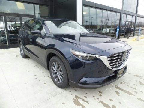 Deep Crystal Blue Mica 2020 Mazda CX-9 Touring AWD