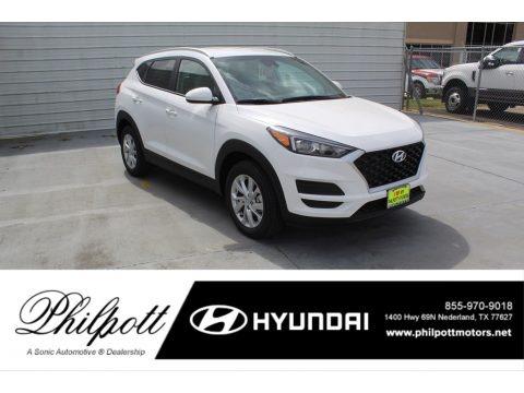 Winter White 2020 Hyundai Tucson Value