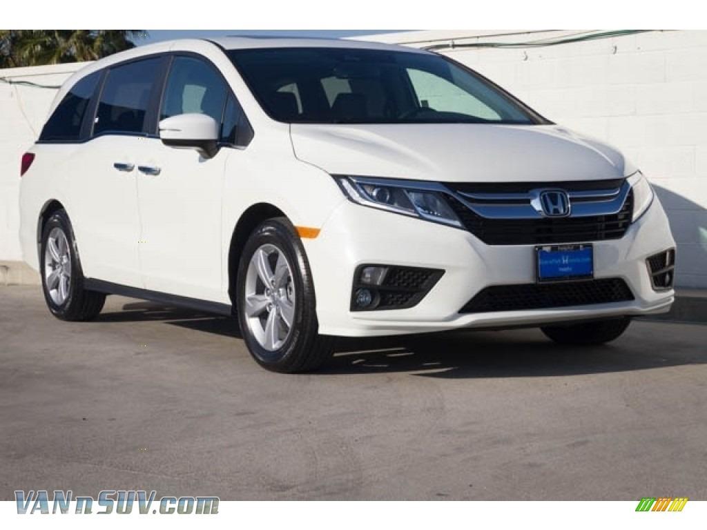 2020 Odyssey EX-L - Platinum White Pearl / Mocha photo #1