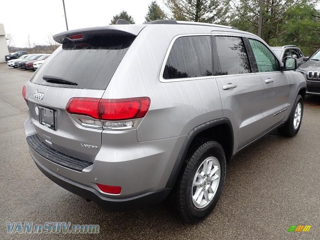 2020 Grand Cherokee Laredo 4x4 - Billet Silver Metallic / Black photo #5
