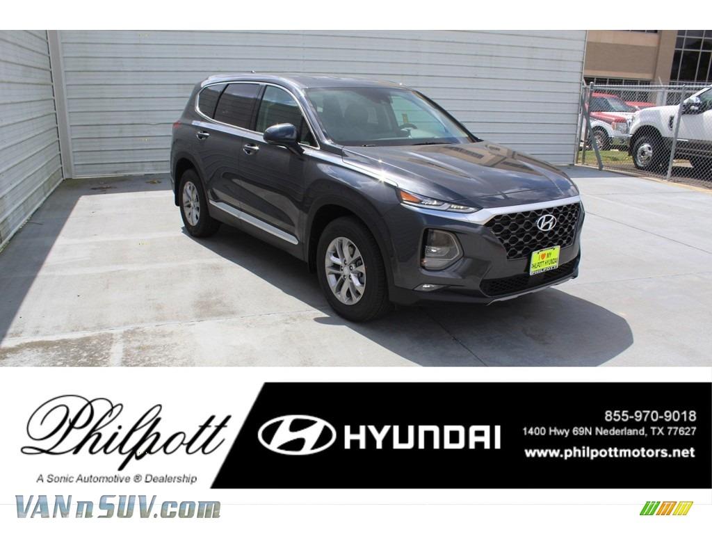 Portofino Gray / Espresso/Gray Hyundai Santa Fe SEL