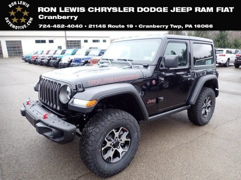 Black 2020 Jeep Wrangler Rubicon 4x4