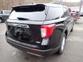 Ford Explorer XLT 4WD Agate Black Metallic photo #2