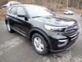 Ford Explorer XLT 4WD Agate Black Metallic photo #3