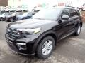 Ford Explorer XLT 4WD Agate Black Metallic photo #5